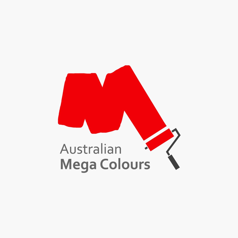 Australian Mega Colours Logo- Full version