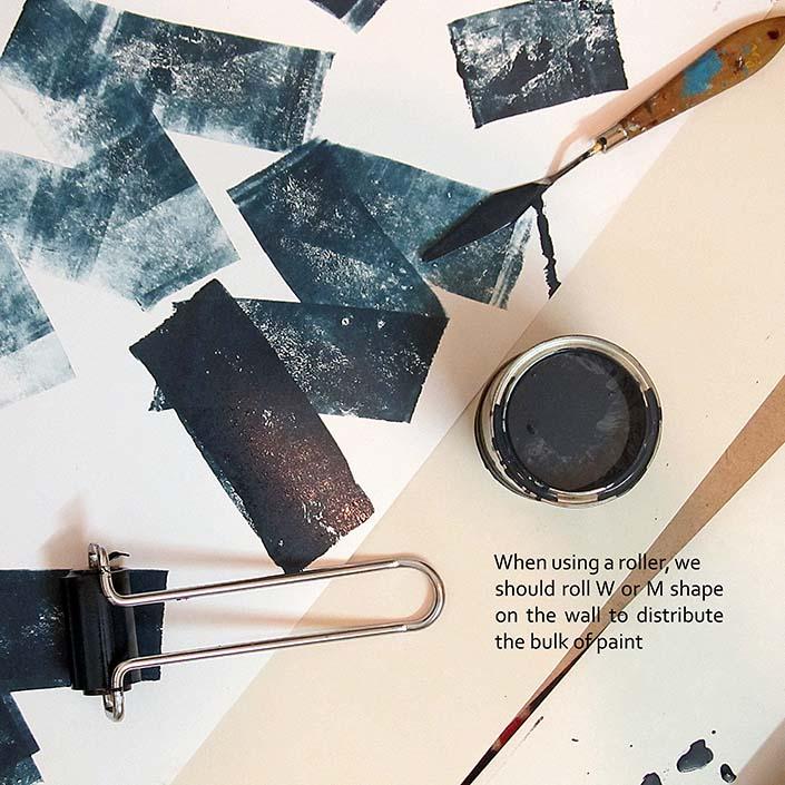 شرکت رنگ مگا کالر- ایده طراحی لوگو