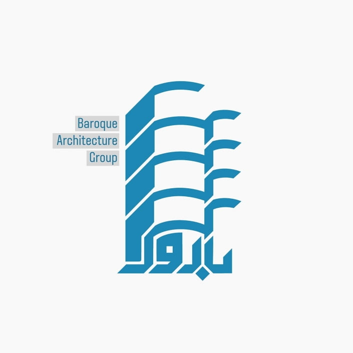 لوگو گروه معماری باروک