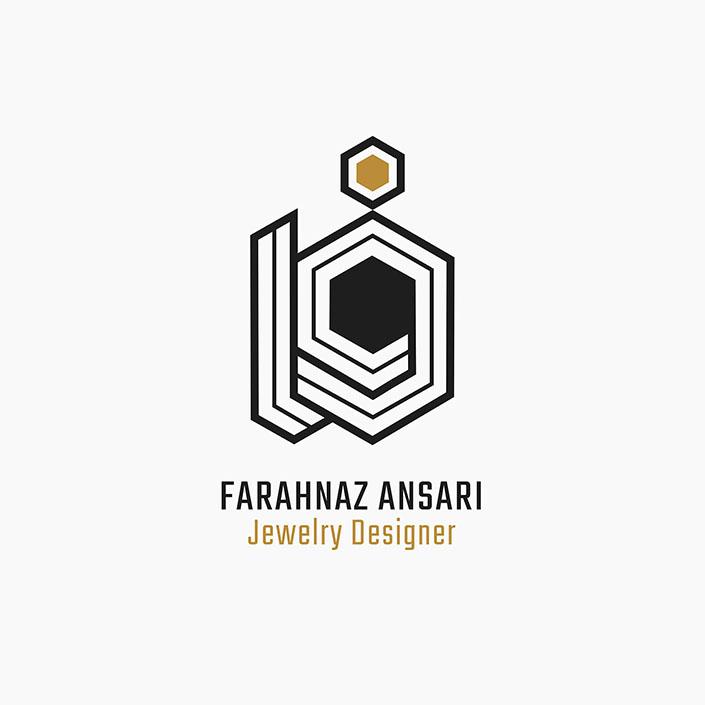 طراحی لوگو - فرحناز انصاری