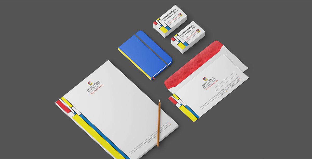 طراحی هویت بصری- فروشگاه رنگ ارکیده