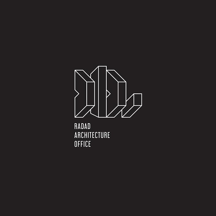 گروه معماری رداد - نشانه پیشنهادی - نسخه نگاتیو