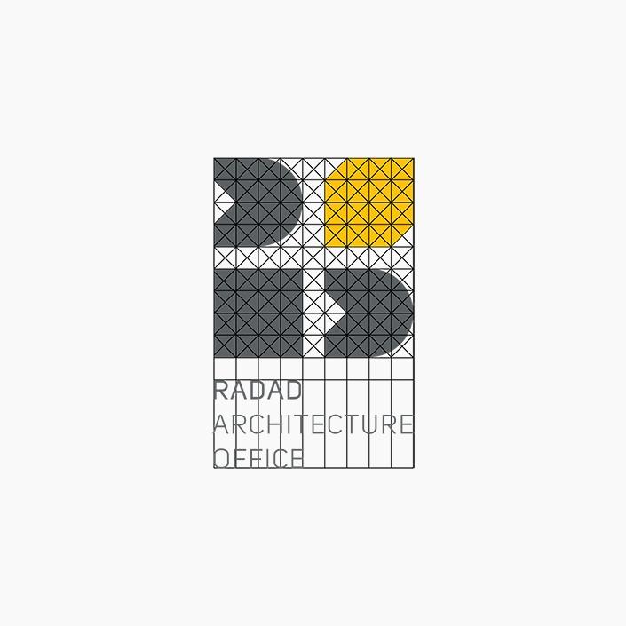 ساختار و تناسبات لوگو - دفتر معماری رداد