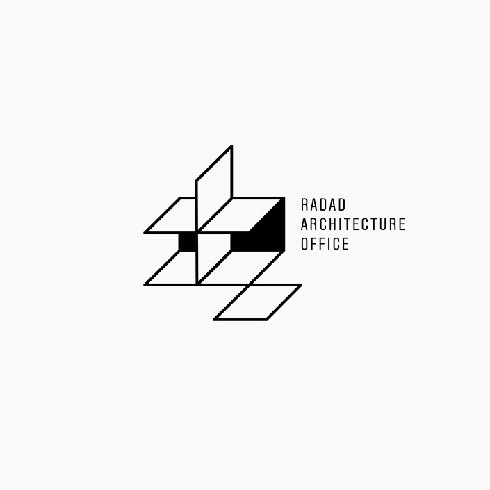 دفتر معماری رداد - طراحی لوگو - نشانه پیشنهادی
