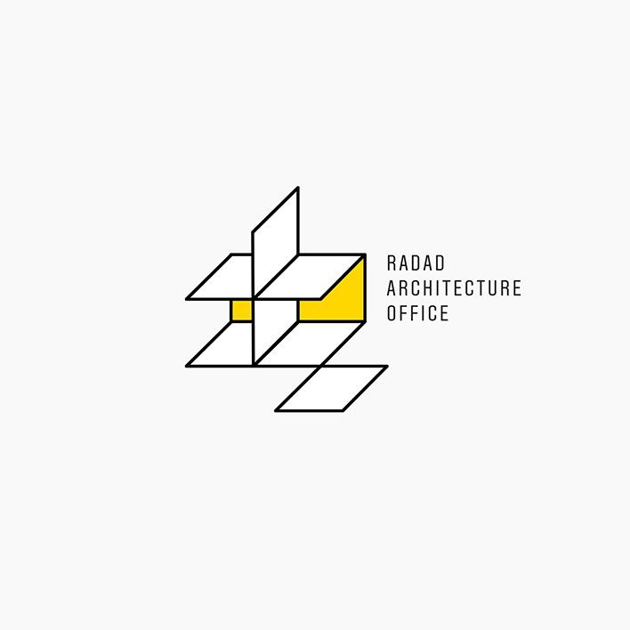دفتر معماری رداد - طراحی لوگوتایپ - نشانه پیشنهادی