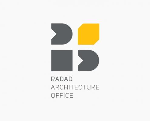طراحی لوگوتایپ - دفتر معماری رداد - محسن خضری